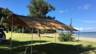 夏真っ盛り!沖縄夏キャンプ@屋我地ビーチキャンプ場