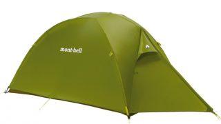 モンベルのサンダードームはソロキャンプにおすすめのテントです