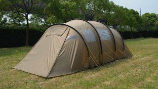 ノルディスク レイサ6 ベージュ!心を掴むベージュカラーで大人気のトンネル型テント!
