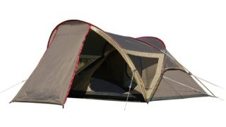 キャンパルジャパンのシャンティ23はソロキャンプにおすすめのテントです