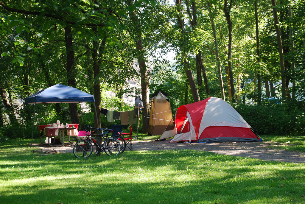 Primitive Camping at New River Trail State Park