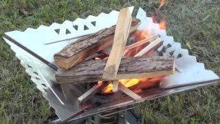 SOTO エアスタはチャコスタいらずの焚き火台