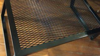 カシワ グリルスタンドMを購入!安定感抜群で頑丈なローテーブル