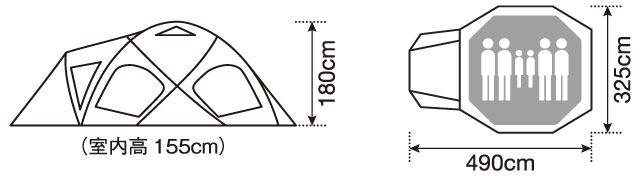 ドックドームPro6アイボリー3