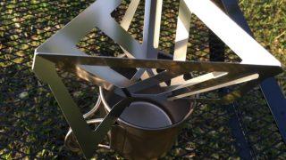 キャンプにおすすめ!軽くてコンパクトなコーヒードリッパー!Tetra Drip(テトラドリップ)