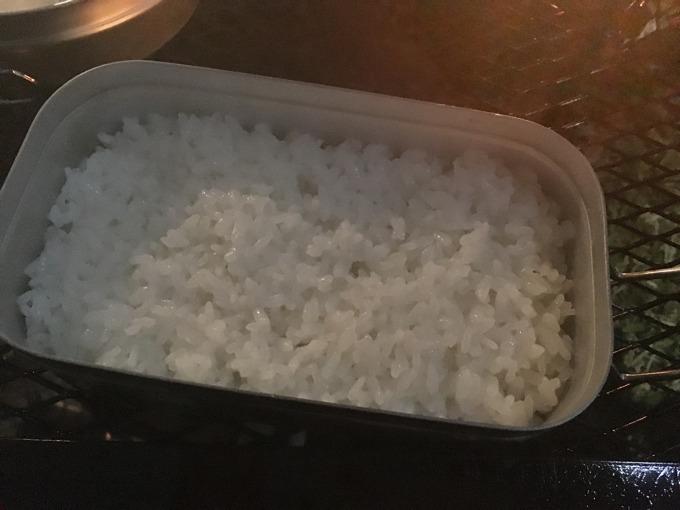 メスティン 炊飯