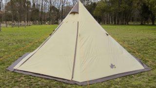 千変万化のテント 2ルームTepee500 スタートパッケージ!ロゴス×ナチュラムコラボテント