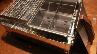 【レビュー】ユニフレーム ユニセラ熱燗あぶり台を購入!ウルトラコンパクトグリルに設置!