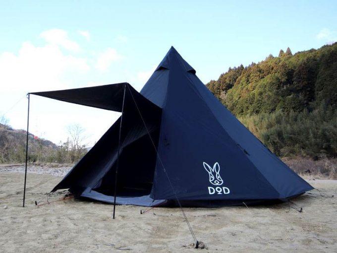 ビッグワンポールテント ブラック2