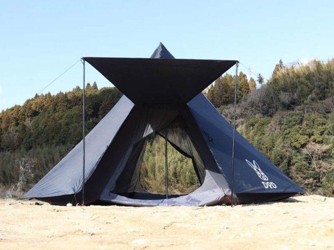 ビッグワンポールテント ブラック6