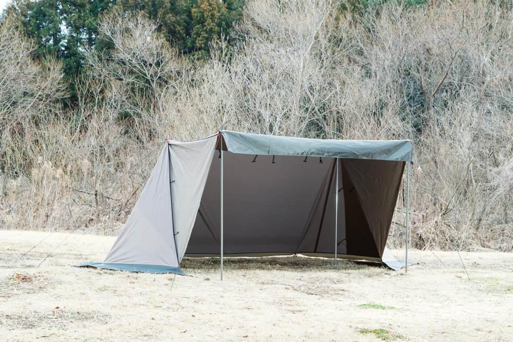 Dx テン マク 幕 evo 炎 デザイン テンマクデザインより炎幕DX EVO発売!ソロならこのテント!