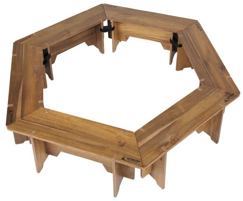 ヘキサグリルテーブル1