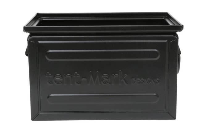 tent-Mark DESIGNS ファミ スチールボックス 12L【ブラック】