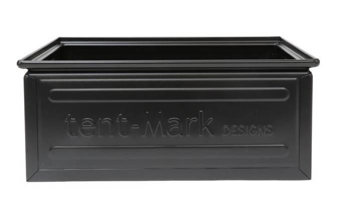 tent-Mark DESIGNS ファミ スチールボックス 27L【ブラック】