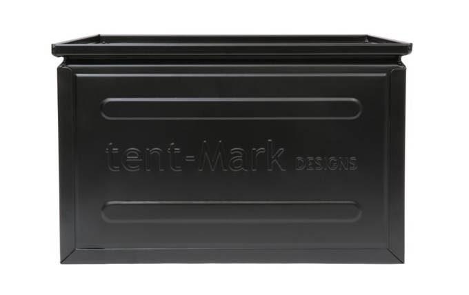 tent-Mark DESIGNS ファミ スチールボックス 40.5L【ブラック】