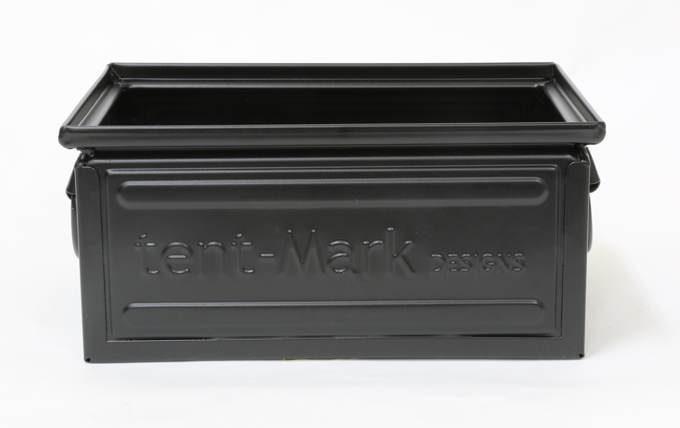 tent-Mark DESIGNS ファミ スチールボックス 8.7L【ブラック】