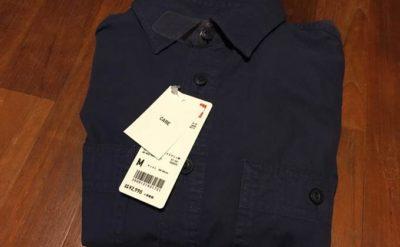 ユニクロ ワークシャツ