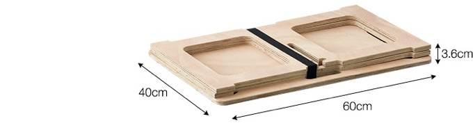 パネル式アウトドアテーブル仕様2