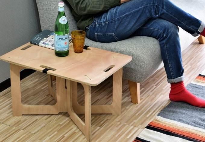 パネル式アウトドアテーブル4
