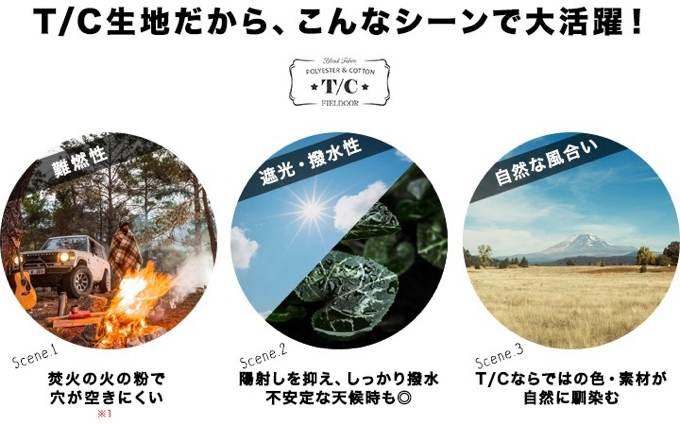 ヘキサタープT/C フィールドア 2