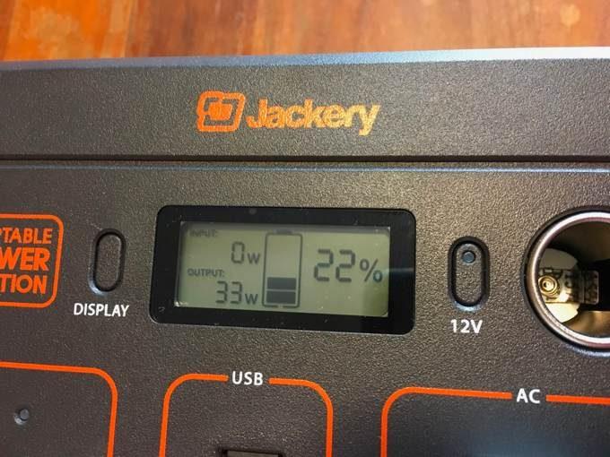 Jackery ポータブル電源 400-20