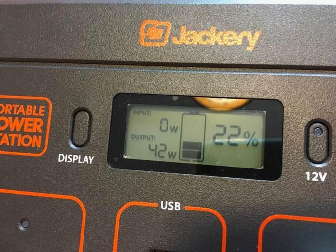 Jackery ポータブル電源 400-7