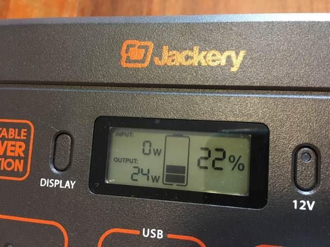 Jackery ポータブル電源 400-8