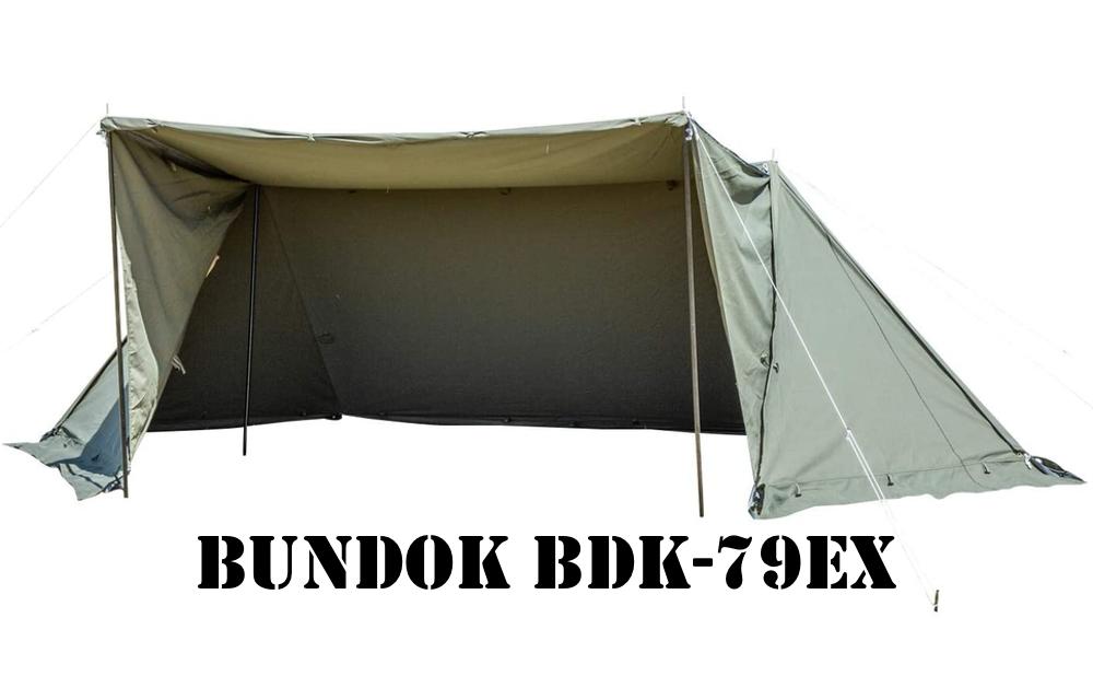 BUNDOK ソロベースEX BDK-79EX TOP