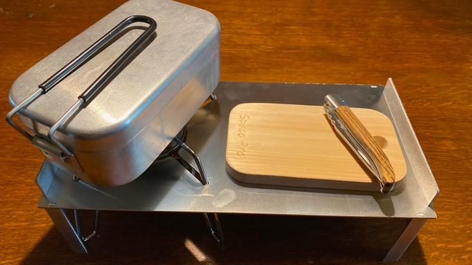 ST-310専用 ソロキッチンとメスティンボード