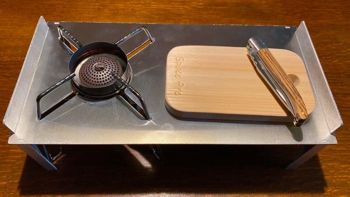 ST-310専用 ソロキッチンとメスティンボード3