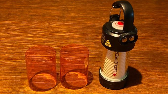 LEDLENSER レッドレンザー ML4 アンバーグローブ 2つ