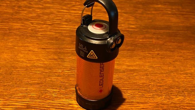 LEDLENSER レッドレンザー ML4 アンバーグローブ 装着