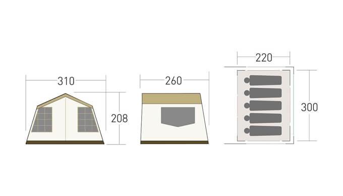 オーナーロッジ タイプ52R T/C 仕様