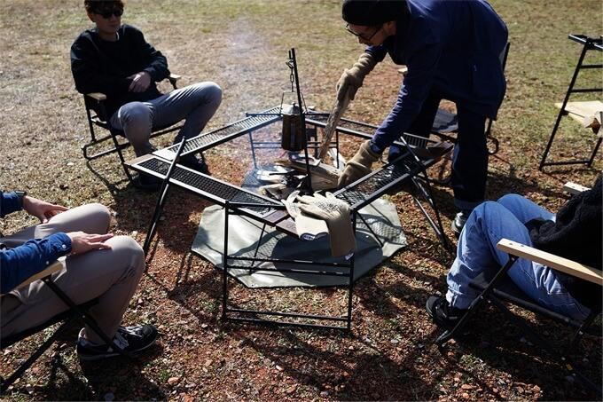 テキーラテーブル3 焚き火テーブル