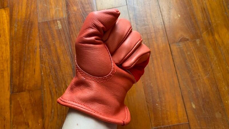 Orange × GRIP SWANY G-70別注カラー 握り裏面