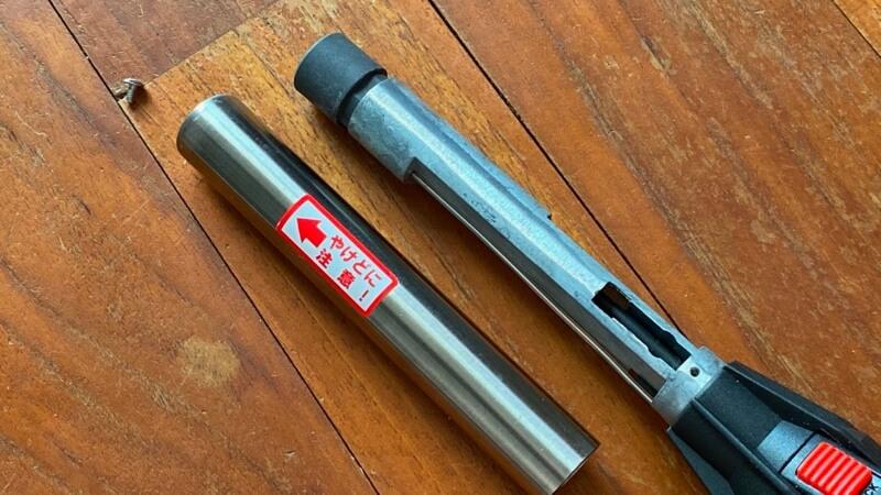 スティックターボⅡ t2_pipe 取り付け2