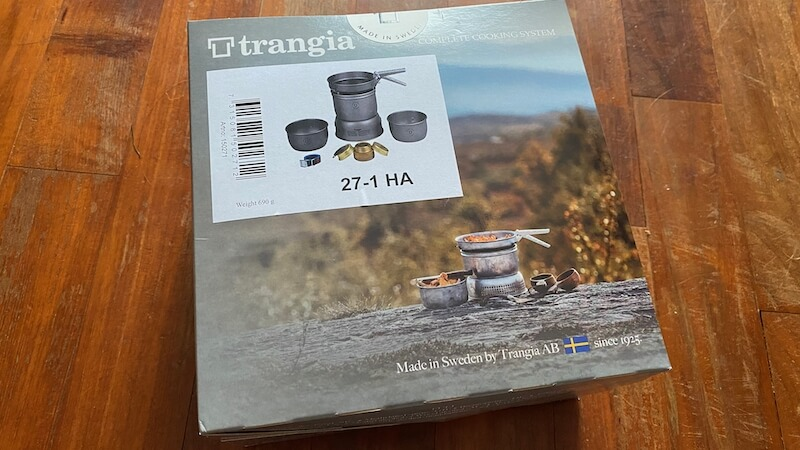 Trangia ストームクッカー 27-1 HA パッケージ