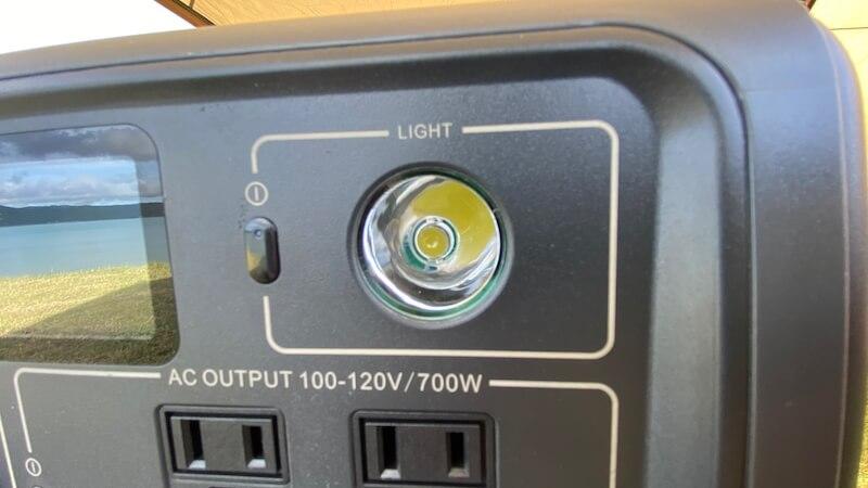BLUETTI EB70 LED