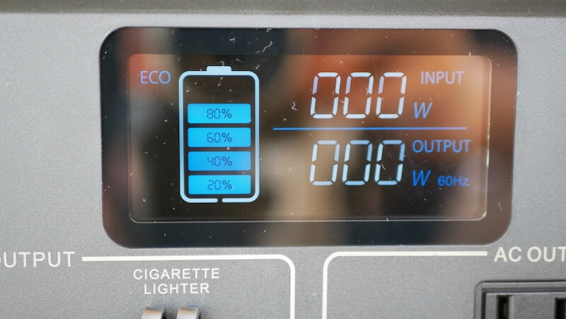 BLUETTI EB70 ECOモード