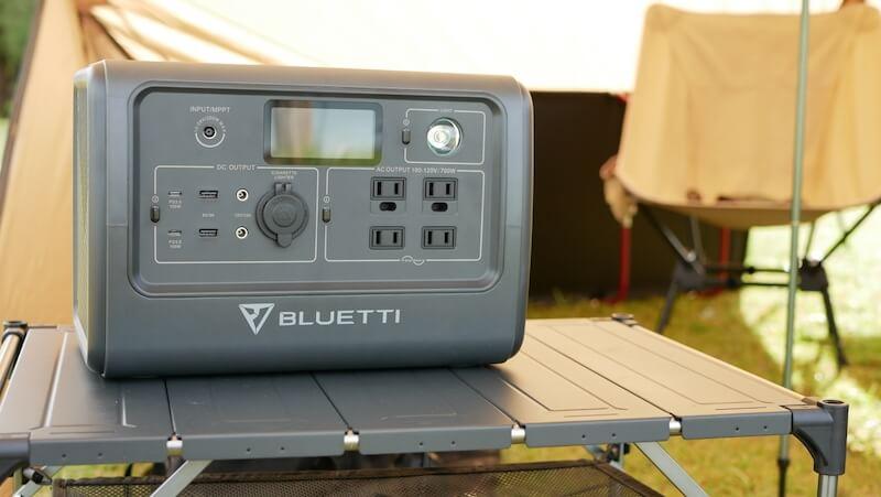 BLUETTI ポータブル電源 EB70 上部 フラット