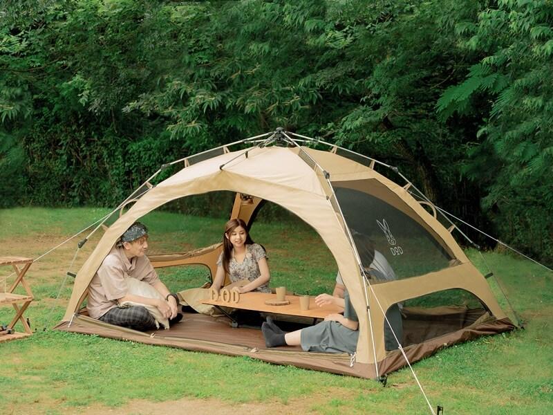 わがやのテント1