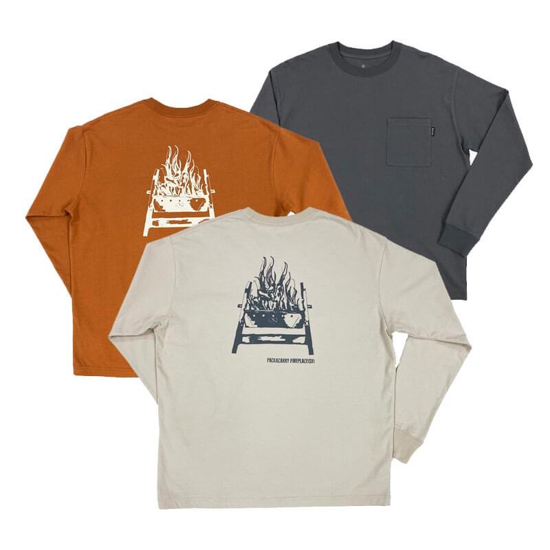 Pack&Carry Fireplace SR PT T-Shirt M IV