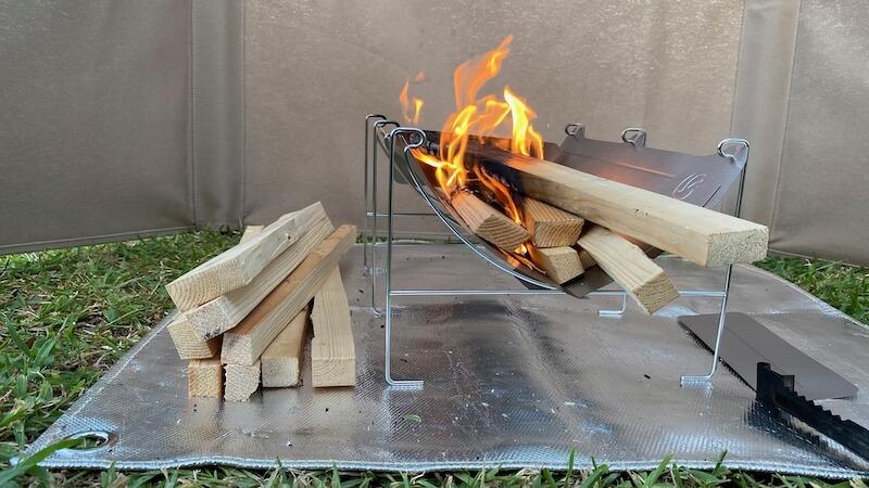 TABI 焚き火1