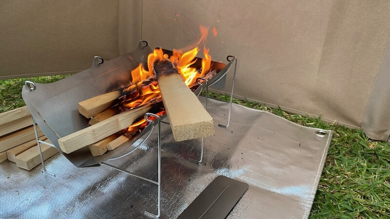 TABI 焚き火3